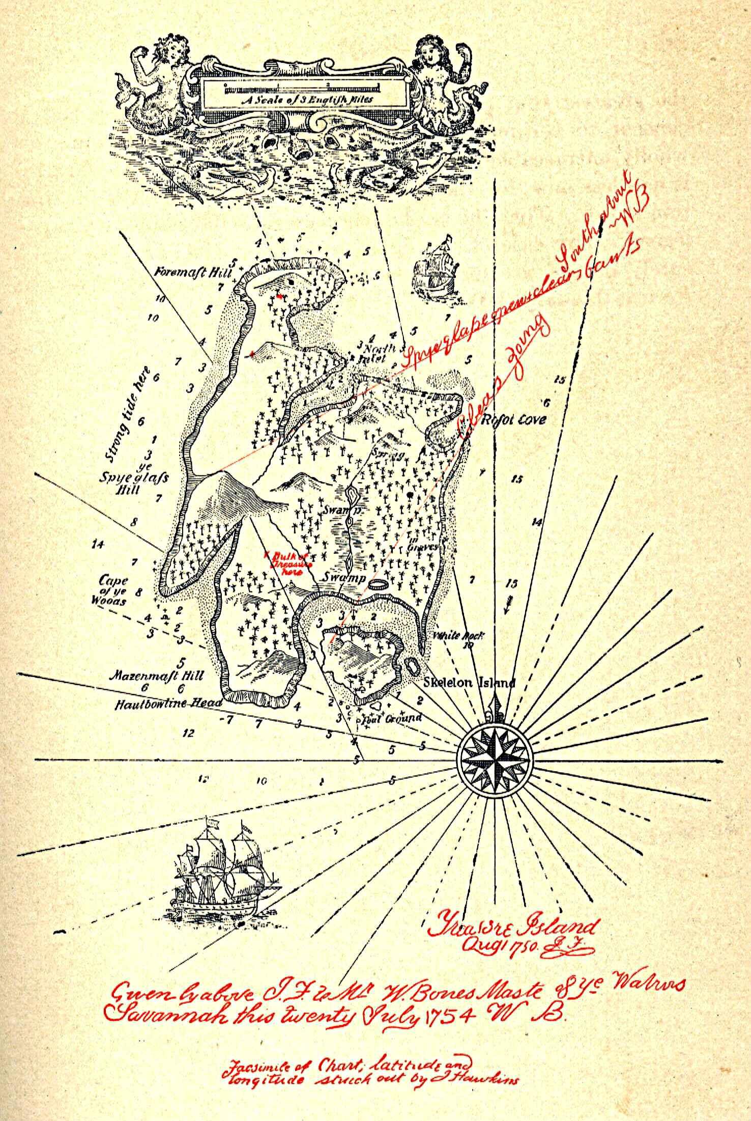 Tresor De Long Island